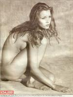 Kate Moss nude in Vogue 1993 - German Edition