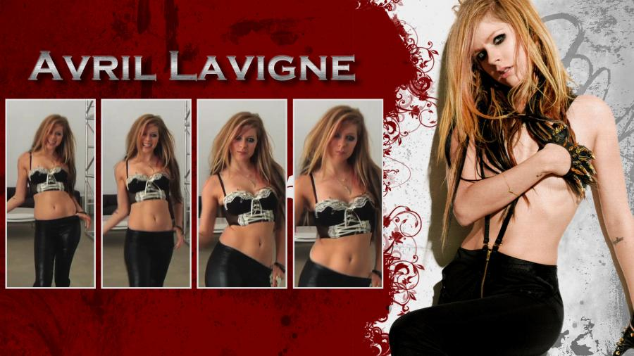 Avril Lavigne Without Bra   Picture  371