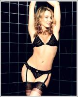 Kylie Minogue in lingerie