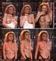Barbara Alyn Woods topless on the stage
