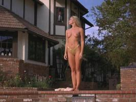 Jaime Pressly in gold panties