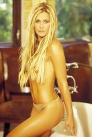 Nicole Eggert topless in wealthy apartment