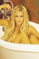 Nicole Eggert naked in the bath