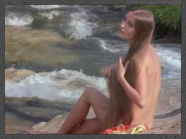 Jane Seymour naked by the river