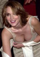 Winona Ryder showing tits