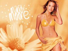 Mandy Moore in lingerie