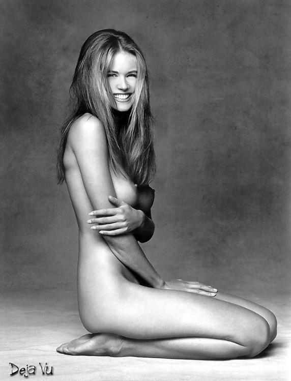 Elle Macpherson Laughing Naked Picture 35648
